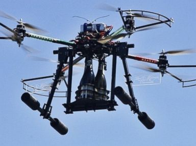 Hotel Offers Bottle Service by Drone