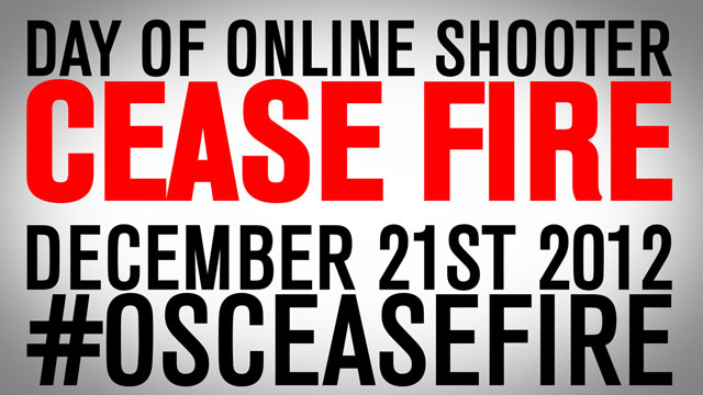 PHOTO: On Dec. 21, a group of gamers plans to hold an online shooter cease fire.