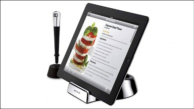 PHOTO: Belkin's iPad chef stand and stylus package.