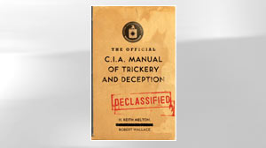 Photo: Secret C.I.A Magic Manual Shows Cold War Spy Tricks: During Cold War, American Magician Wrote Trickery and Deception Manual for C.I.A.