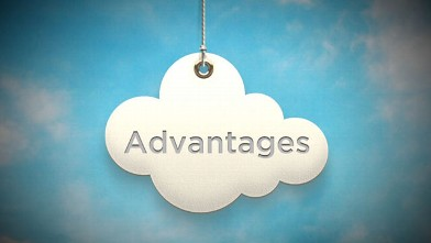 PHOTO: There are advantages to using the Cloud.