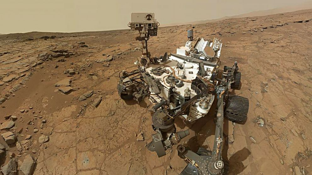 PHOTO: Mars rover Curiosity self portrait