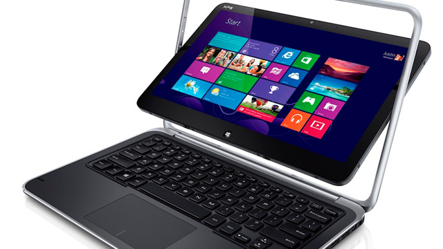 PHOTO: Dell's XPS Duo 12 convertible ultrabook