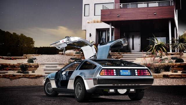 PHOTO:&nbsp;A DeLorean sports car, refitted with an electric motor. The DeLorean Motor Company of Humble, Texas, hopes to sell custom-made electric DeLoreans by 2013.