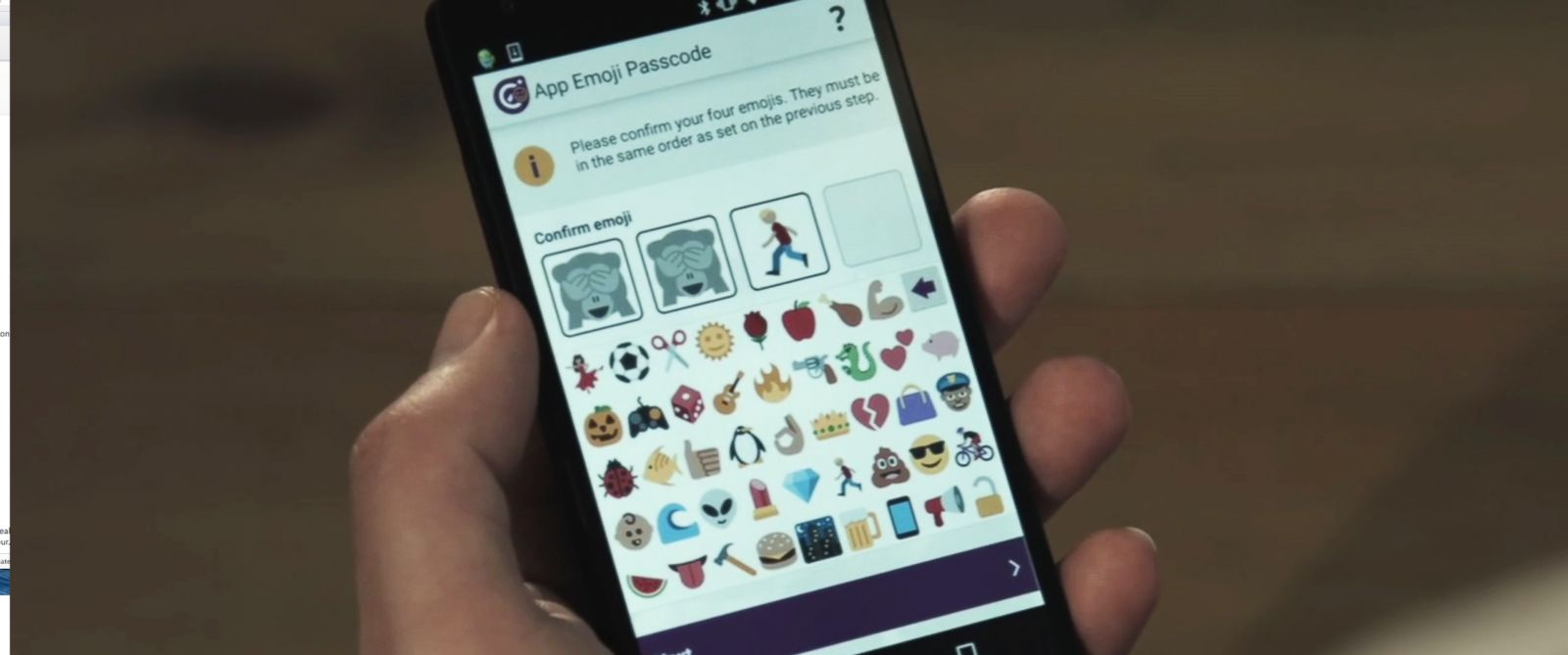 PHOTO: Intelligent Environments has launched the world's first emoji-only passcode in the UK.