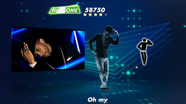 PHOTO: If your gang likes to dance, this is the game for you! Slide in the disc, follow the dance moves on the screen and get rocking!