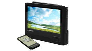 PHOTO The Eviant T7 7-Inch Handheld LCD TV is shown.