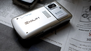 PHOTO The Casio Exilim is shown.