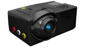 PHOTO The EyeClops Mini Projector is shown in this file photo.