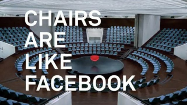 PHOTO: Facebook's first ad, which appeared, Oct. 4, 2012.