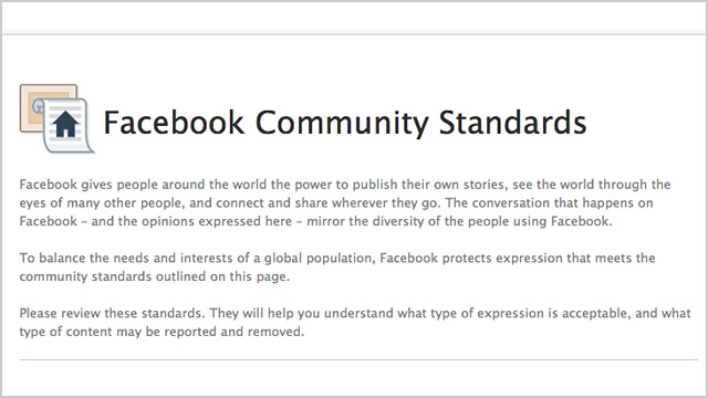 ht facebook community standards ll 131022 wblog On Facebook, Videos of Beheadings Okay; Breasts, Not So Much