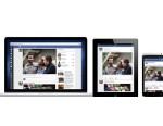 PHOTO: Facebook has designed its News Feed to look the same across all devices.