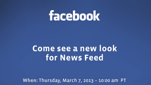 PHOTO: Facebooks press conference invite for March 7.