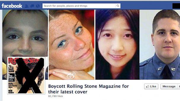 ht facebook rollingstone kb 130717 16x9 608 Rolling Stone Boston Bombing Suspect Cover Sparks Huge Social Media Backlash