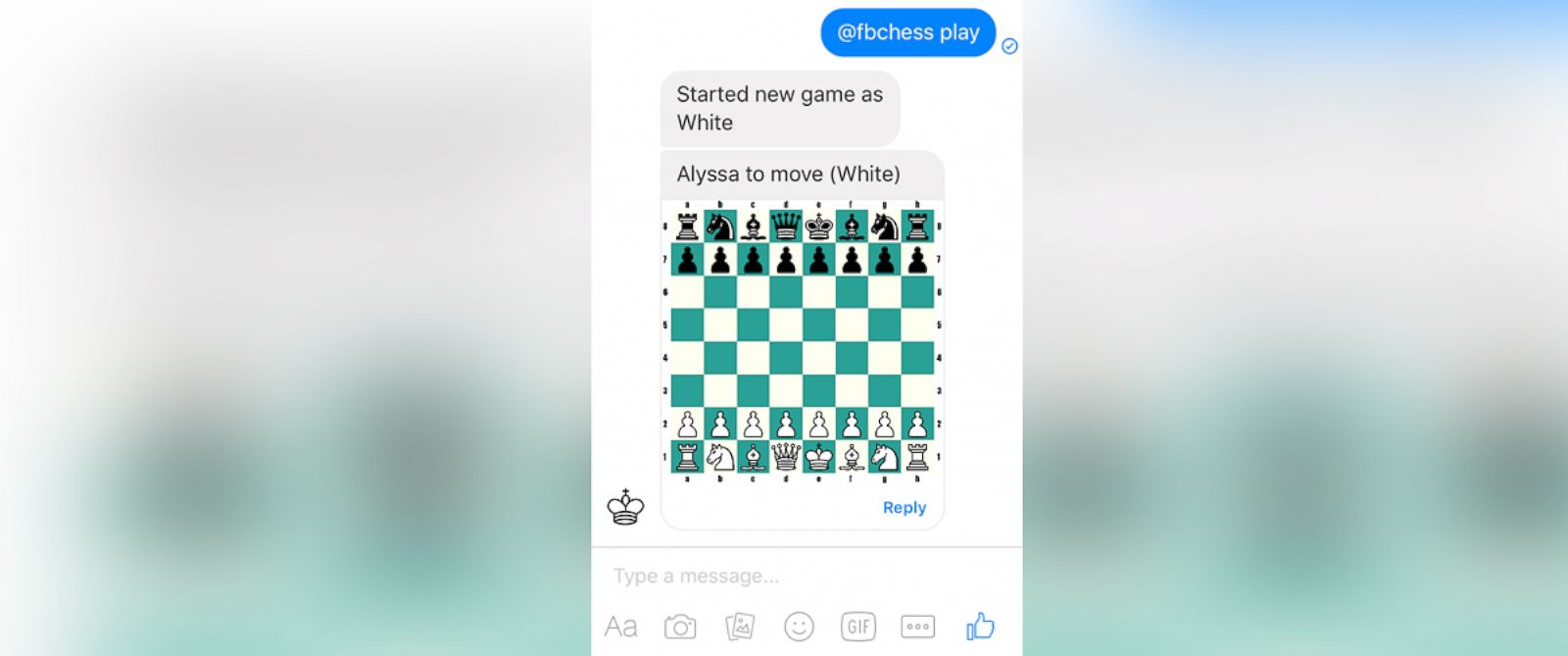 Good Morning America Zuckerberg Give Away : Facebook messenger includes a hidden chess game abc news