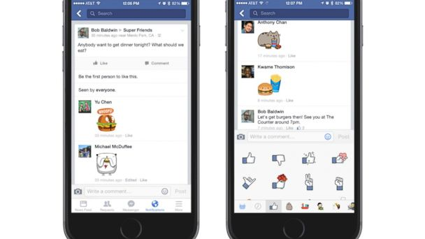 ht facebook stickers mt 141013 16x9 608 Your Facebook Wall Just Got More Interesting