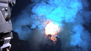 "Photo: An ""Underwater Fourth of July"" Scientists Photograph Deepest Underwater Volcanic Eruption Ever Seen"