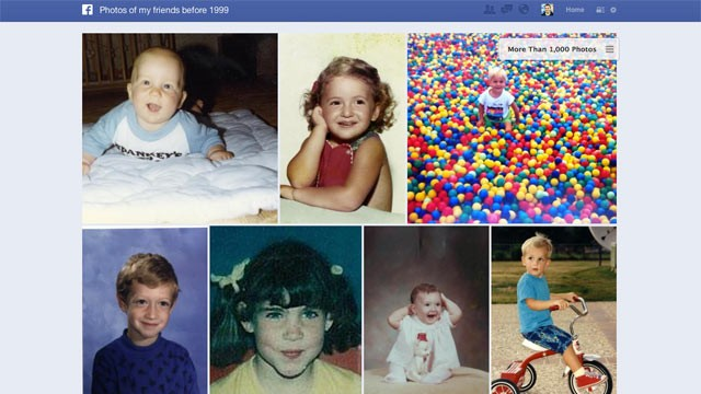 PHOTO: Facebook's Graph Search allows you to search more about your friends, including their interests and photos.