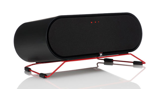 PHOTO: Aperion's ARIS speakers costs $499 and wirelessly streams music.