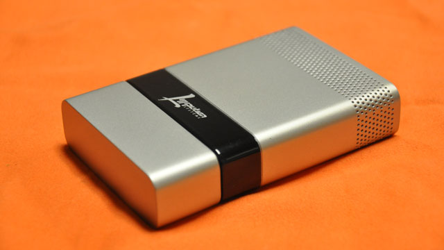 PHOTO: Liliputian Systems and Brookstone's prototype Fuel Cell USB charger.