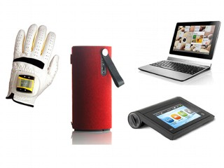 New Gadgets: Digital Golf Glove, Android Tablets