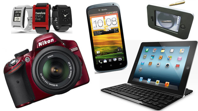 PHOTO: Abc News Gadgets of the Week are seen here.