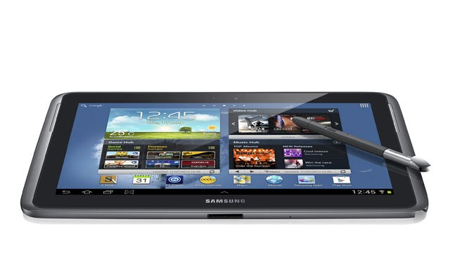 PHOTO: The Samsung Galaxy Note 10.1 is seen here.