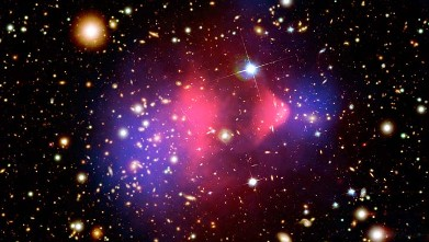 PHOTO: Galaxy cluster 1E 0657-66