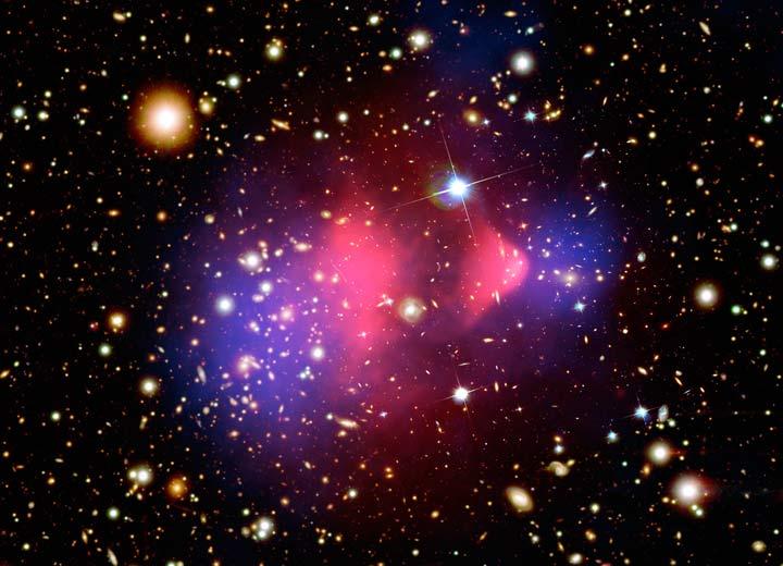 PHOTO: Galaxy cluster 1E 0657-66