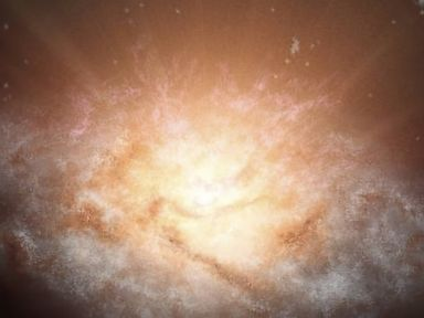 Spacecraft Finds Galaxy as