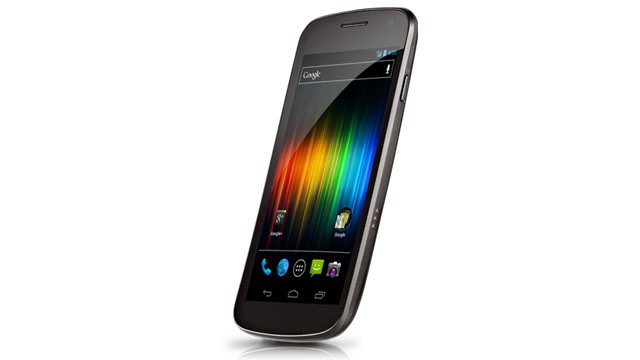 PHOTO: Samsung's Galaxy Nexus, a phone made in partnership with Google, was the first phone to run Android 4.0.