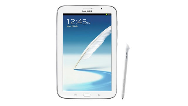 PHOTO: Samsung's Galaxy Note 8.0 has an 8-inch screen and a stylus.