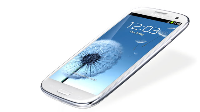 PHOTO: Samsung's Galaxy SIII Android Phone