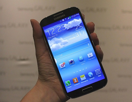 New Samsung Galaxy S IV Smartphone