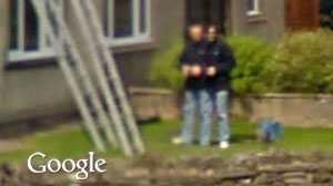 Photo: Is It a Two-Headed Man on Google Street View? Odd, Uncanny Images Continue to Surface on Google Street View
