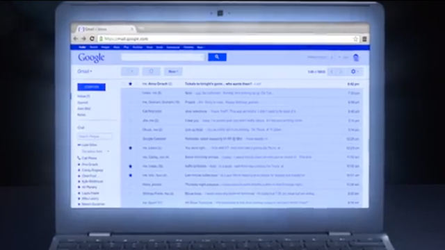 PHOTO: Gmail Blue is an all blue version of Gmail for April Fools day.