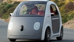 "PHOTO: Google posted this photo to their Instagram on May 27, 2014 with the caption, ""Imagine a future where you get in your car and just press go. Here's an early peek at the next stop on the road to a self-driving car."""