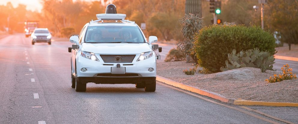 PHOTO: Googles self-driving cars are coming to Arizona.