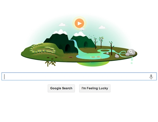Google Celebrates Earth Day