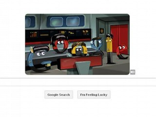 Photos: Google Doodle: Star Trek