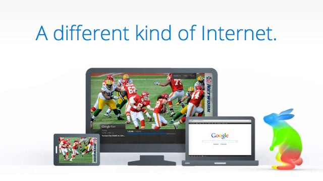PHOTO: Google Fiber, Google's broadband internet network, is launching first in Kansas City, Kansas.