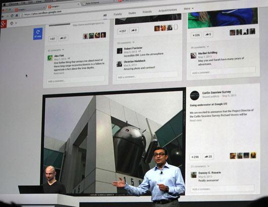 Google I/O: The Google Developer's Conference