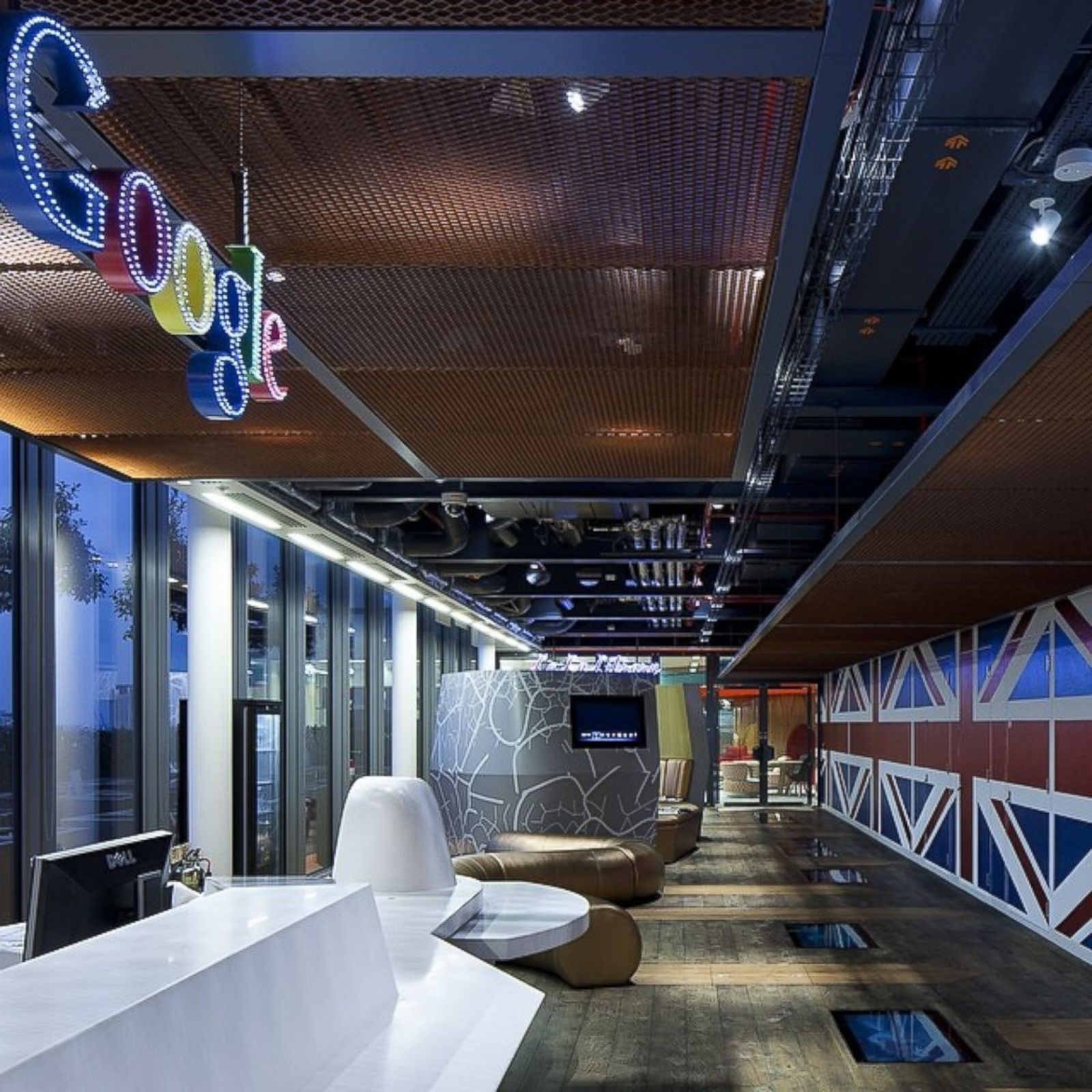 google london office google london office inside google offices around the world photos image 8 abc belgrave house google london office