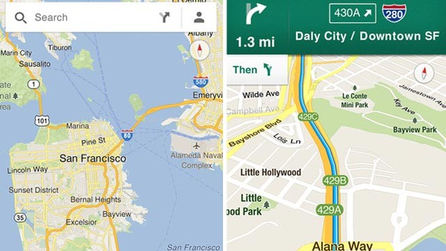 PHOTO: Google Maps App