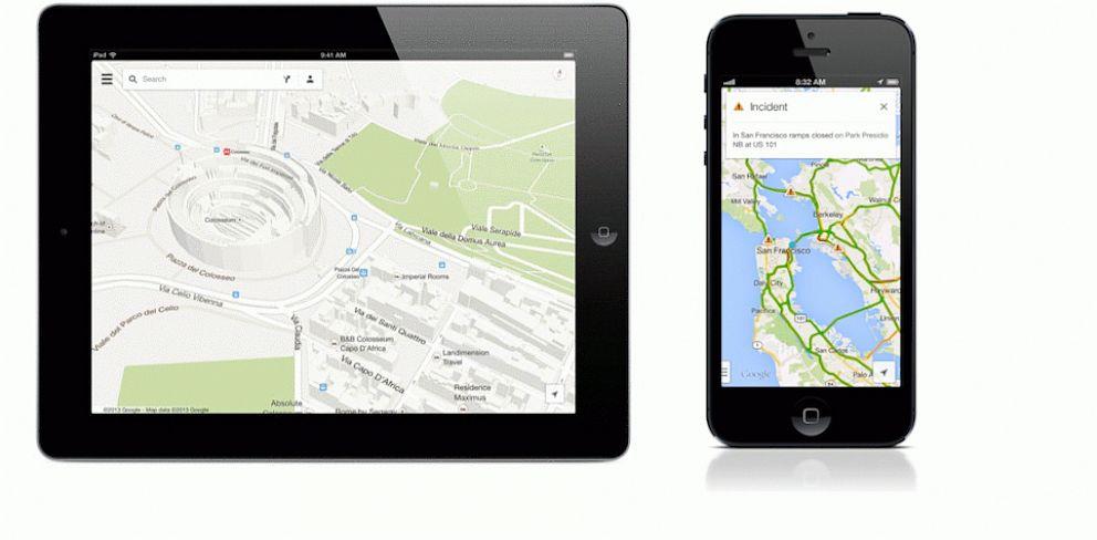 PHOTO: Google Maps app