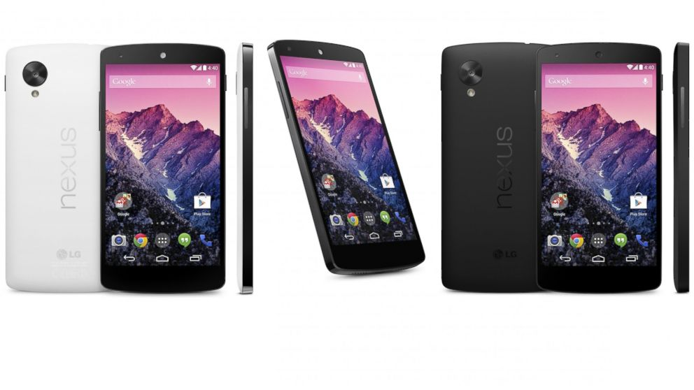 PHOTO: The Nexus 5 will be the first device that comes with Androids newest operating system, KitKat.