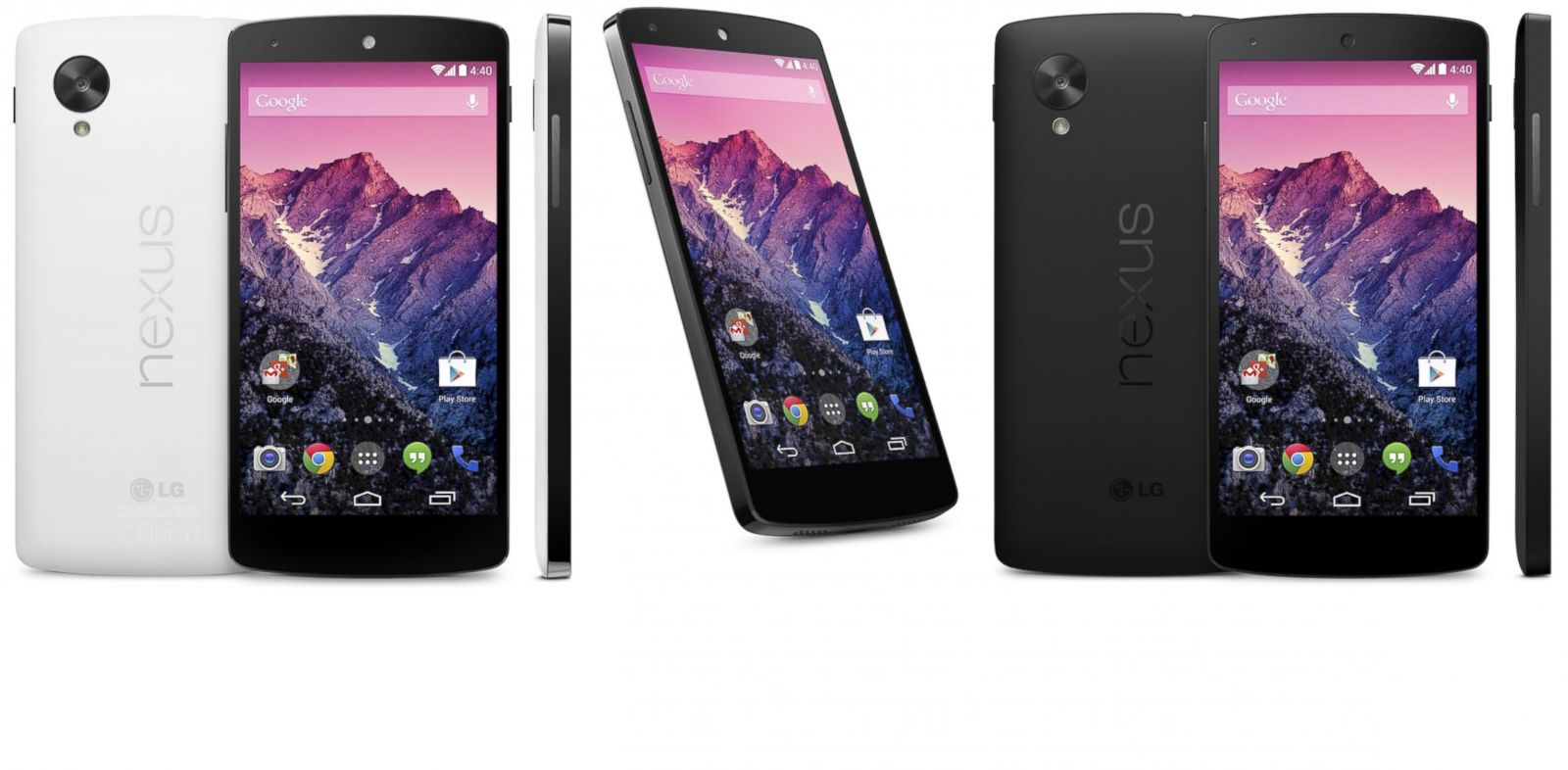 PHOTO: Smartphones like this Nexus 5 can help shoppers, but beware.
