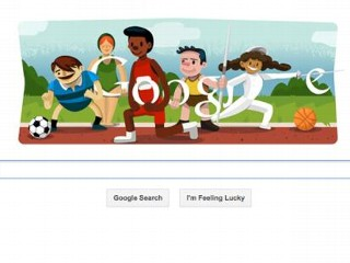 Photos: Google Doodle: Olympic Cartoons