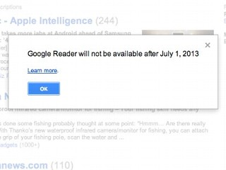 Google to Shut Down Its 'Reader'