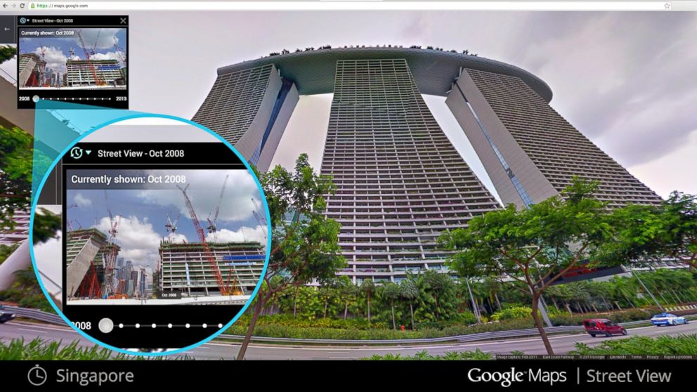 ht google streetview singapore kb 140423 16x9 992 Instant Index: Google Street View Goes Back in Time